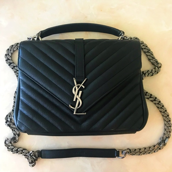 fe0e04d81b73 YSL medium college bag. M 5b4bd30b9fe486a6465304c3